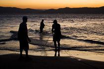 Sunset at Daniela Beach by Ricardo Ribas