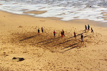 Beach football by Xulio Villarino
