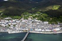 Viveiro, aerial view by Xulio Villarino