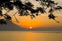 Sunset at Ribeirao da Ilha, Florianopolis by Ricardo Ribas