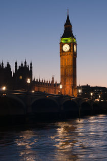 Big Ben Evening Twilight by Stelios Michael