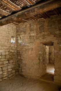 Aztec New Mexico Ruins von April Brown