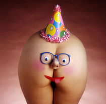 Happy Birthday Butt Face von Stan  Fellerman