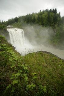 Green and lush - Snowqualmie Falls, Washington by Jess Gibbs