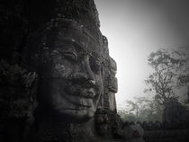 The Face at the Bayon by Phil  Caldwell