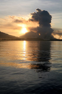 Mt Tavuvur Volcano, PNG by Mike Greenslade