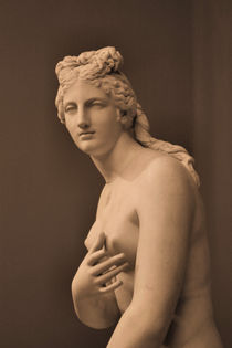 Athens - Statue of Aphrodite by Ian C Whitworth