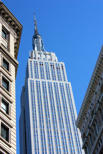 New York City Empire State Building by Ian C Whitworth
