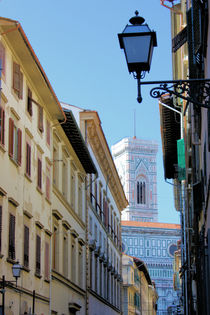 Italy - Florence Street by Ian C Whitworth