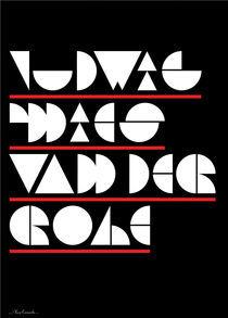 Modular type. Ludwig Mies Van Der Rohe by Alex Camacho