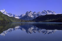 Torres del Paine Reflections by Wolfgang Kaehler