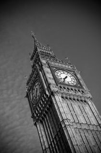London. Houses of Parliament. Big Ben. von Alan Copson