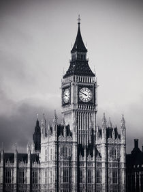 London. Houses of Parliament. Big Ben. by Alan Copson