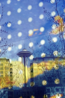 Seattle Space Needle by Wolfgang Kaehler