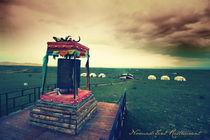 Prayer Wheel & Nomad Tents von Chelsea Godier