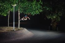 Piotrek Combrzynski - Tree Stall von Kuba Urbanczyk