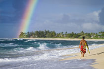 Hawaiian rainbow von Sean Davey