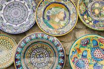 Europe, Italy, Campania, (Amalfi Coast), Ravello: Ceramic Souvenirs by Danita Delimont