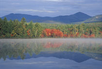 Fall reflections in Chocorua Lake in New Hampshire's White Mountains, Chocorua von Danita Delimont