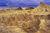 California: Death Valley NP, view from Zabriskie Point. von Danita Delimont