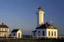 USA, Washington, near Port Townsend Point Wilson lighthouse von Danita Delimont