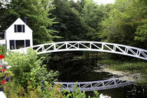 The Thaddeaus Somes Bridge in Somesville von Danita Delimont