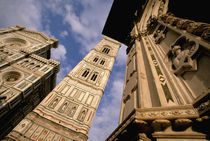Europe, Italy, Tuscany, Florence. Piazza del Duomo. Duomo sunset. by Danita Delimont