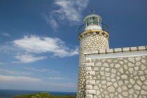 GREECE-Ionian Islands-ZAKYNTHOS-CAPE SKINARI: Cape Skinari Lighthouse by Danita Delimont