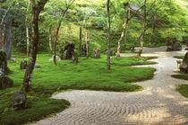 Asia, Japan, Fukuoka, Dazaifu, Komyoji Temple Garden by Danita Delimont