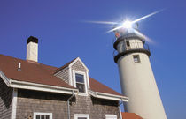 North America, USA, Massachusettes, Cape Cod, North Turo. Cape Cod lighthouse by Danita Delimont