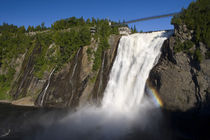 Montmorency Falls near Quebec City. Canada by Danita Delimont