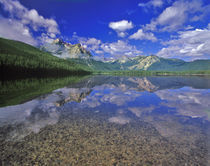 Stanley Lake in the Sawtooth Mountains of Idaho by Danita Delimont