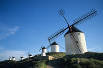 Consuegra, La Mancha, Spain windmills by Danita Delimont
