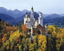 The fanciful Neuschwanstein, Germany by Danita Delimont