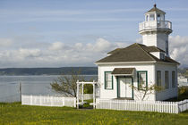 Small lighthouse in Port Townsend, WA by Danita Delimont