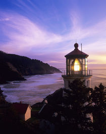 OR, Oregon Coast, Heceta Head Lighthouse by Danita Delimont