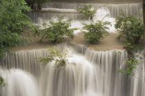 Thailand, Huai Mae Khamin Waterfall von Danita Delimont