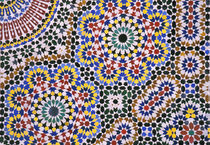 Africa, Morocco Intricate floor by Danita Delimont