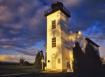Lighthouse in Escanaba UP Michigan von Danita Delimont