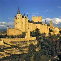 Europe, Spain, Segovia. The imposing Alcazar von Danita Delimont