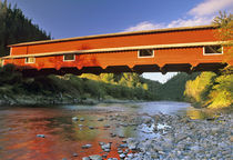 Office Covered Bridge the longest in Oregon at 180ft by Danita Delimont
