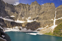 Iceberg Lake in Glacier National Park in Montana by Danita Delimont