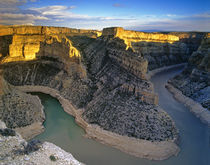 Bighorn River Canyon in Carbon County Montana by Danita Delimont
