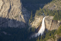 CA, Yosemite NP, Nevada Falls from Glacier Point viewpoint by Danita Delimont