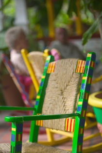 BARBADOS, Dover Beach Rocking Chair Detail Casuarina Beach Club by Danita Delimont