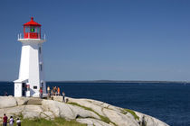 Lighthouse at Peggy's Cove by Danita Delimont