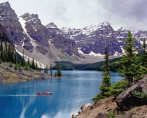 Canada, Alberta, Moraine Lake by Danita Delimont