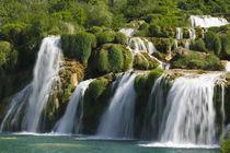 CROATIA, Sibenik-Knin Region, KRKA NATIONAL PARK. Skradinski Buk Waterfalls by Danita Delimont