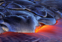 USA, Hawaii, Big Island, Kilauea Volcanoes NP Volcanic eruption by Danita Delimont
