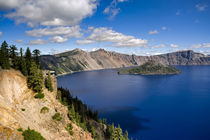 USA, Oregon, Crater Lake NP by Danita Delimont